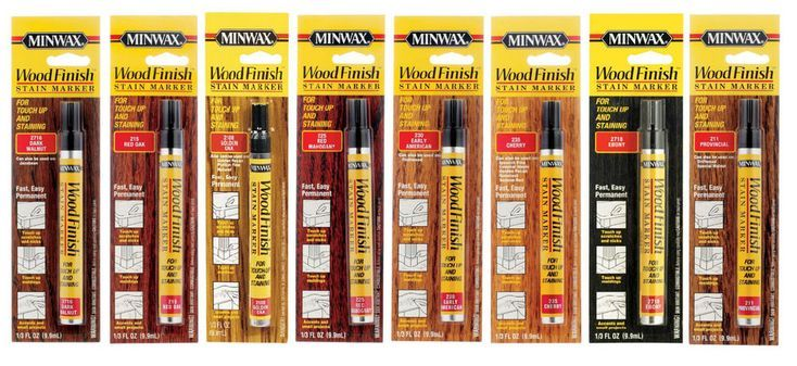 minwax wood finish stain markers
