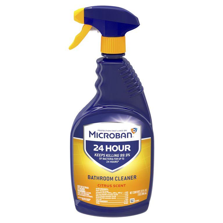 24 Hour Bathroom Cleaner by Microban