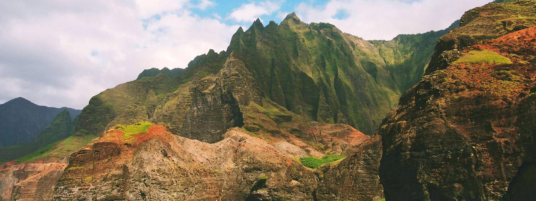 Researcher on the Hawaiian Islands