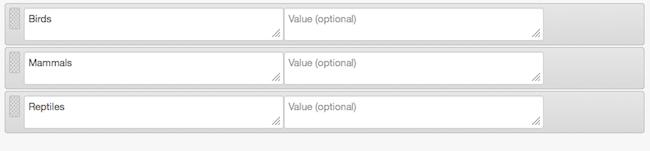 Classification Sets