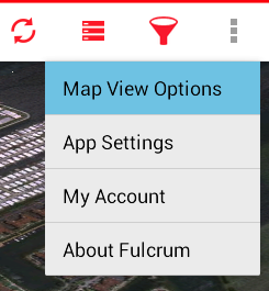 Map View Options Action