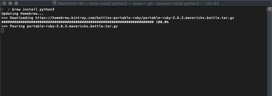 Python 3 Install
