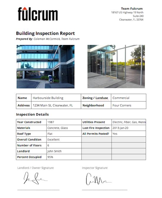 Custom report example