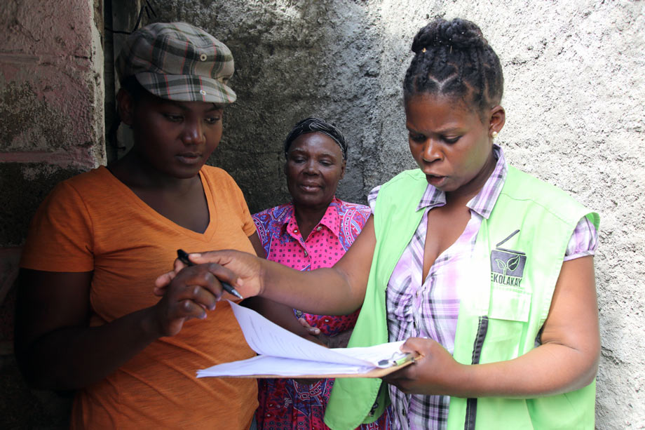Resident survey in Haiti