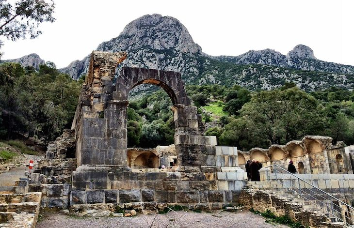 Le Temple des Eaux in Zaghouan