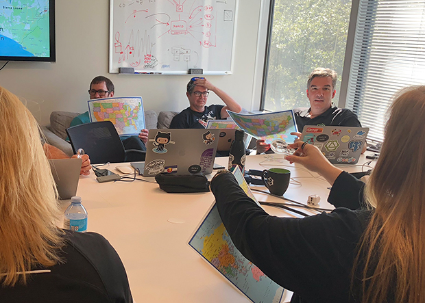 Using old school maps in the dev pit