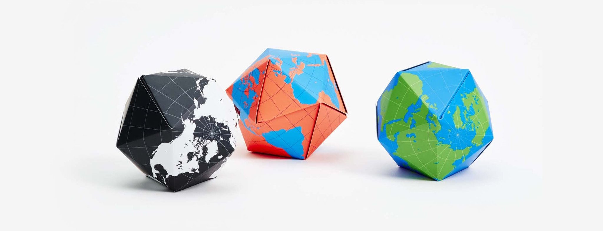 Dymaxion Folding Globe Bundle