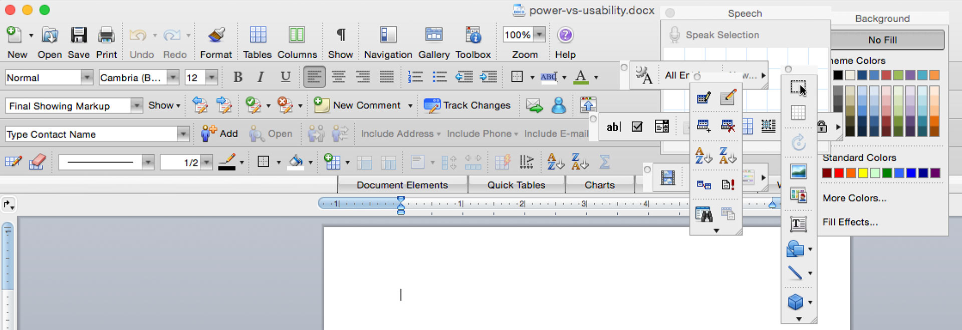 Microsoft Office is a sea of settings