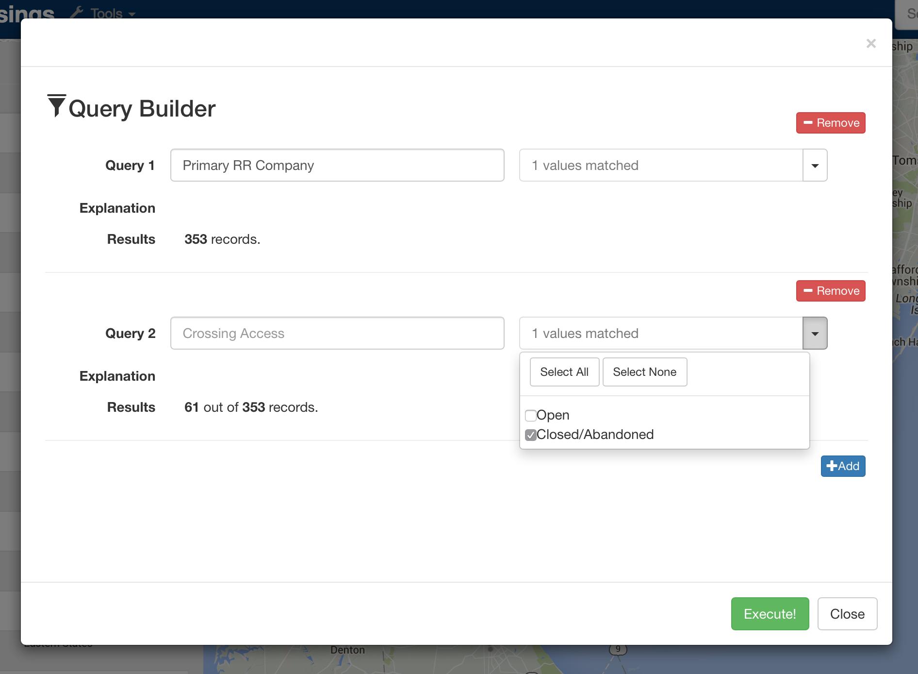 Dashboard Screenshots