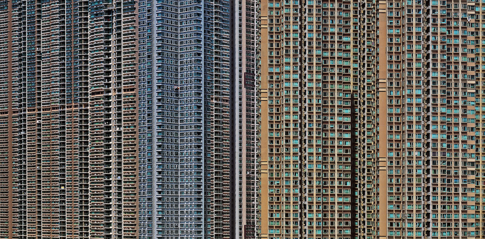 Hong Kong apartment buildings
