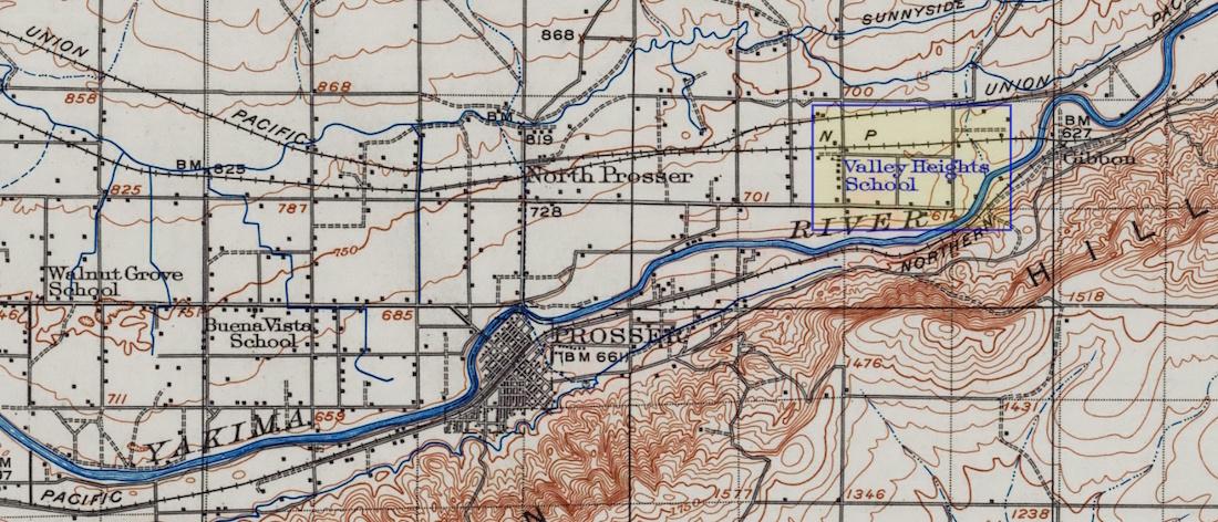 USGS topographic map