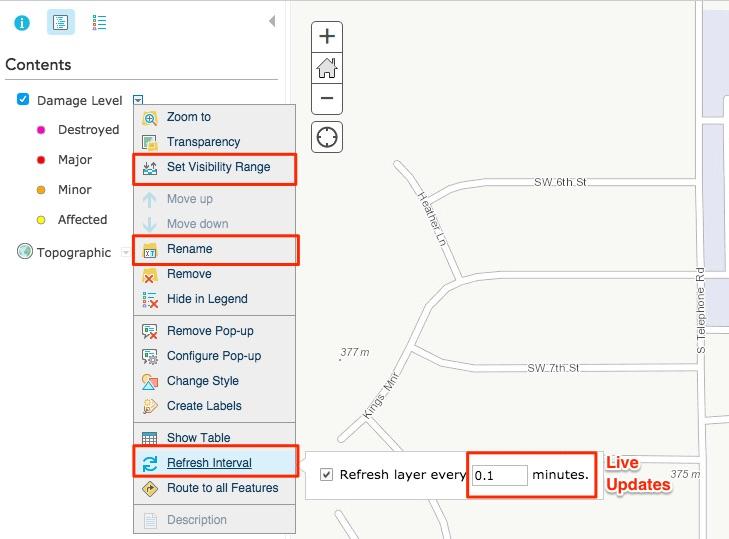 Configure ArcGIS Online Layer