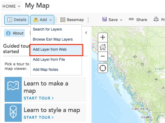 Adding Layer to ArcGIS Online from Fulcrum