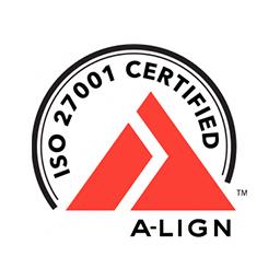 ISO27001 certified logo