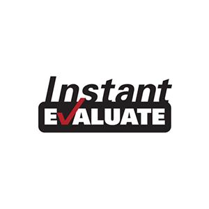 Instant Evaluate logo