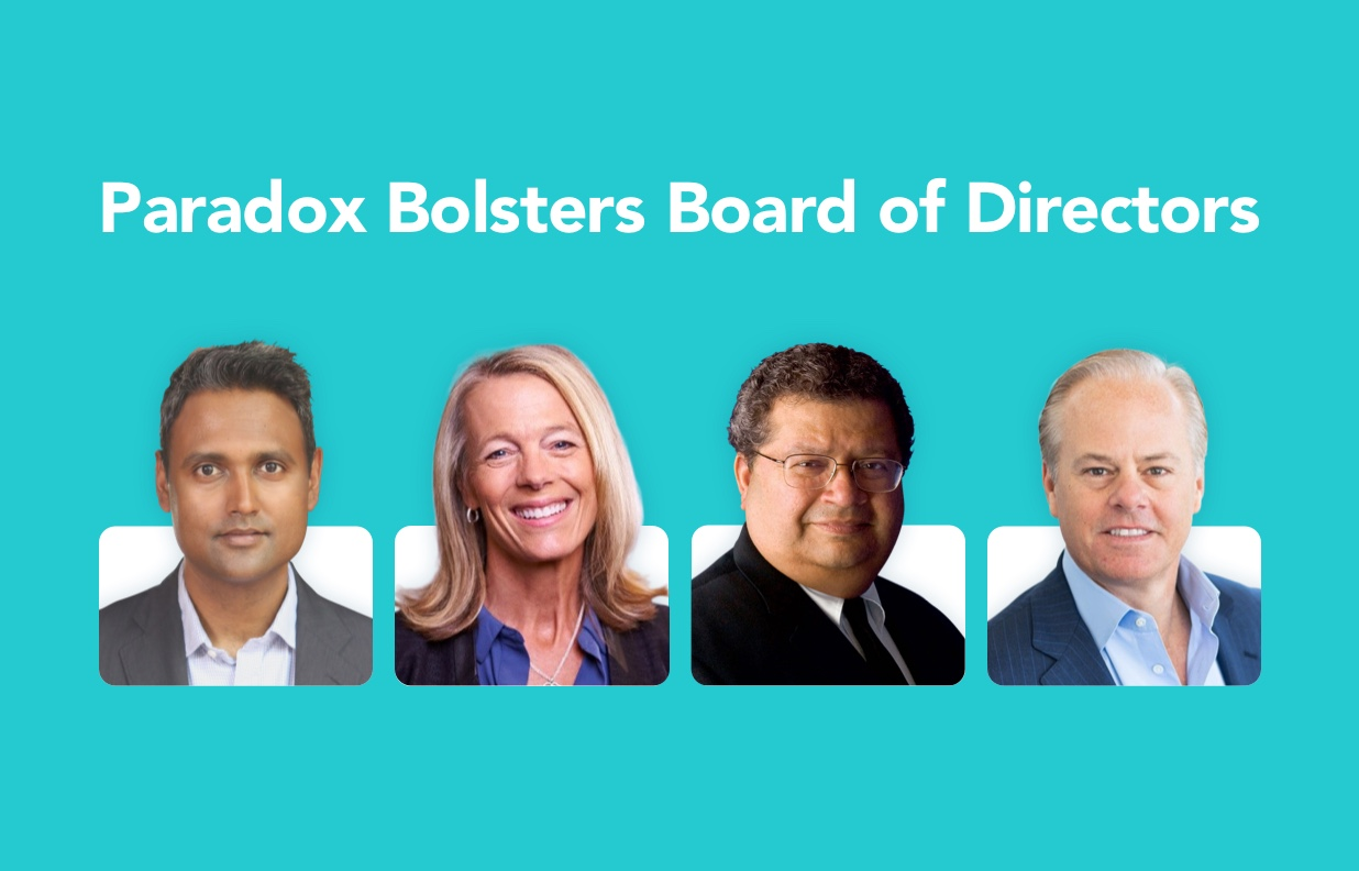 Paradox Bolsters Board of Directors with Renowned Industry Pros