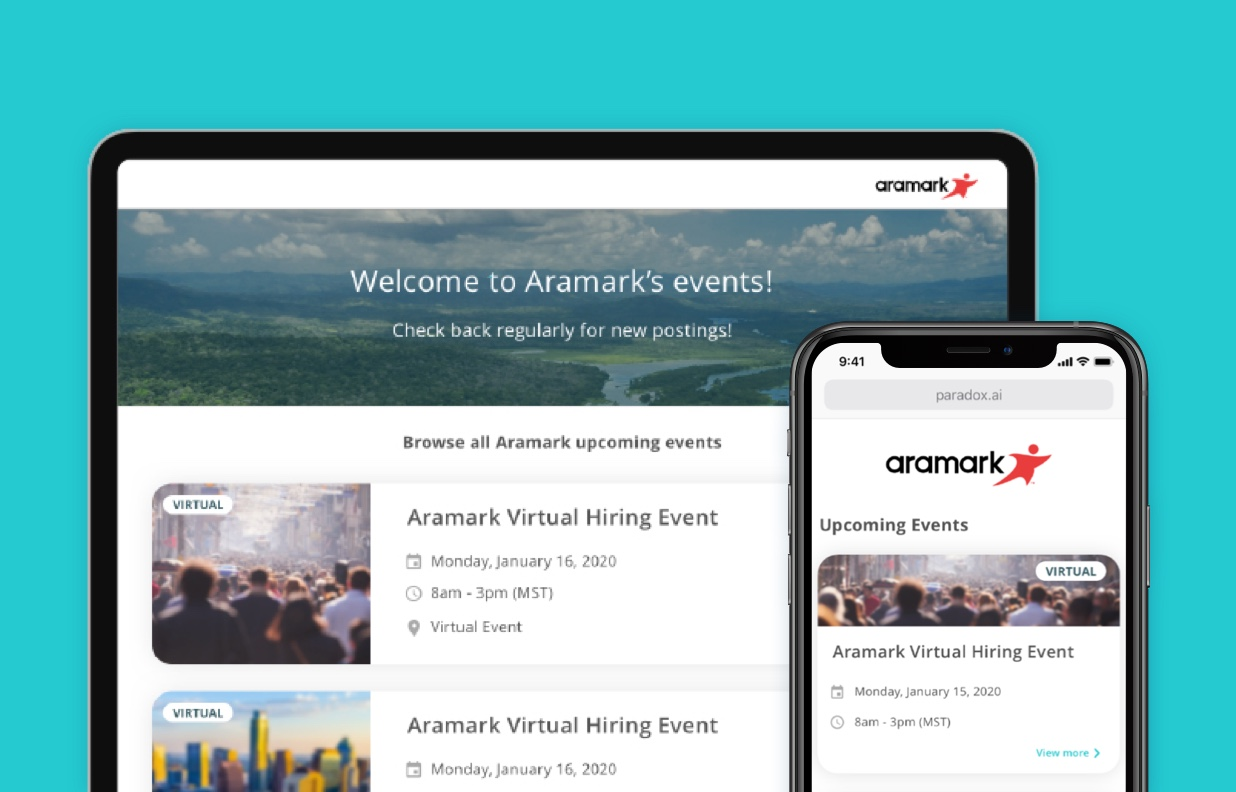 Paradox Launches Virtual Hiring Events to Help Meet Candidates Anywhere