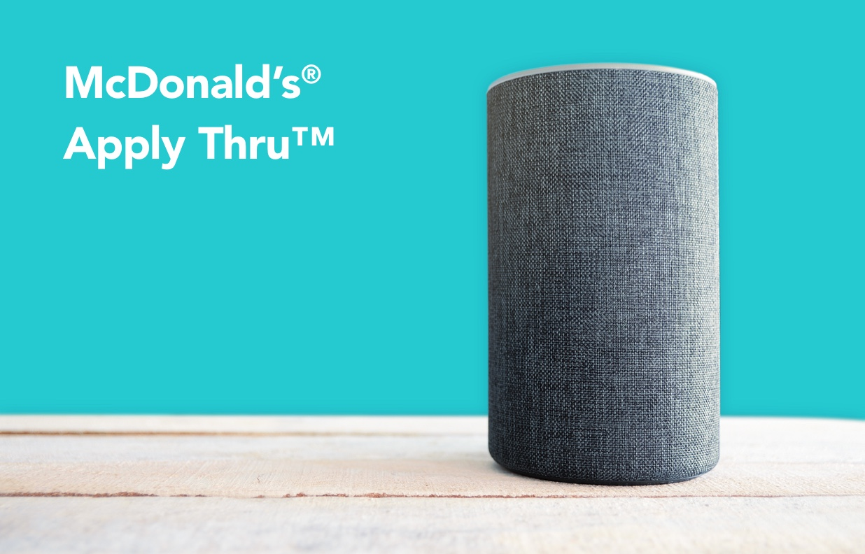 Alexa, Help Me Get a Job at McDonald's