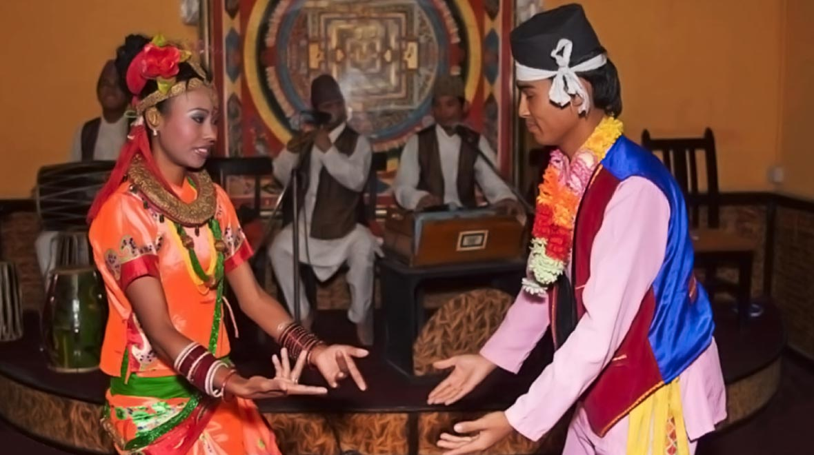 Nepali dinner with cultural show