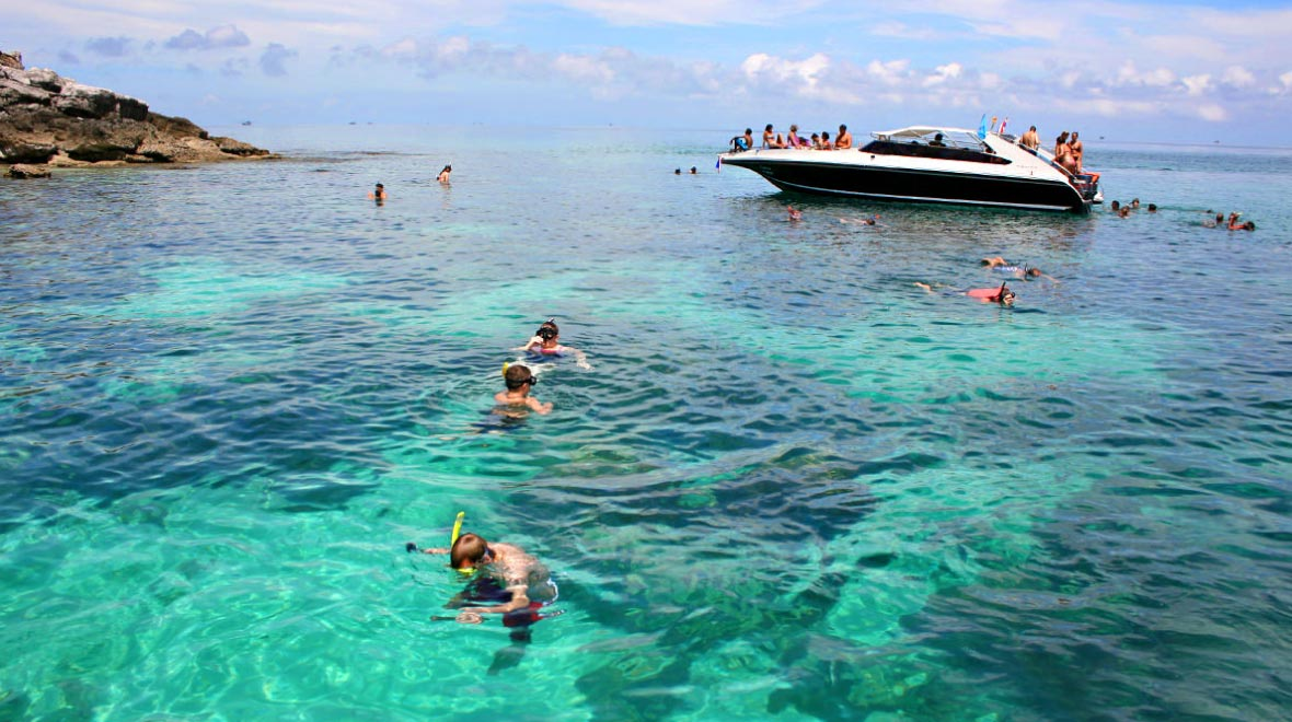 Koh Wao or Koh Tay Plow for snorkeling