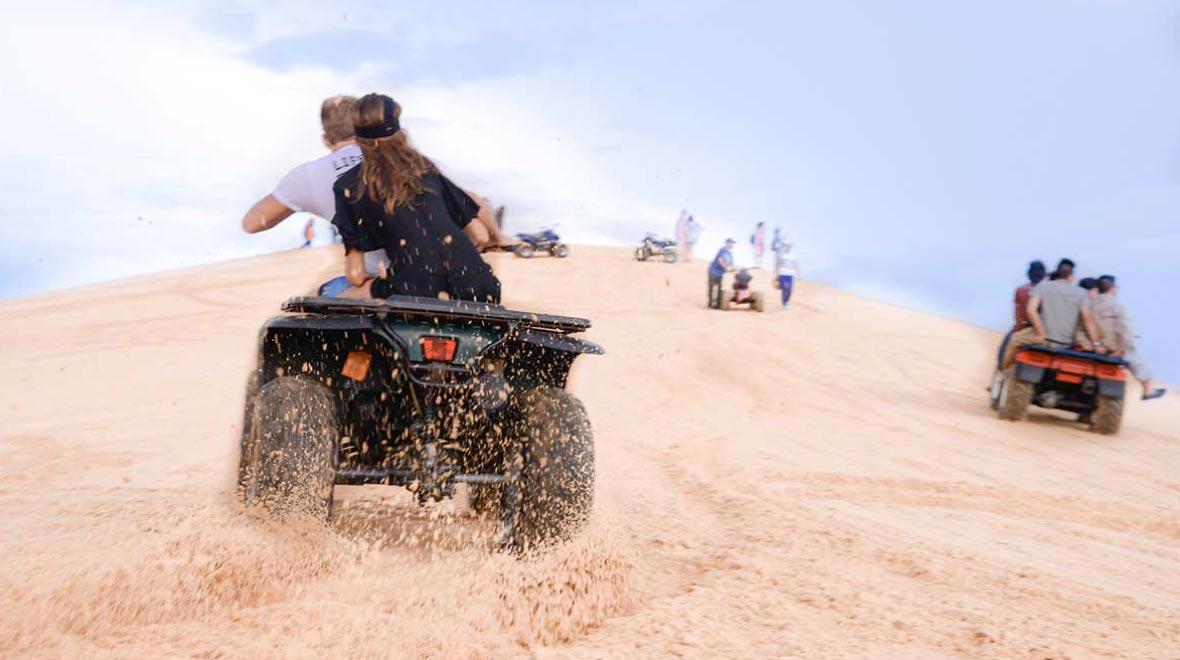ATV exeperience - White Sand Dunes