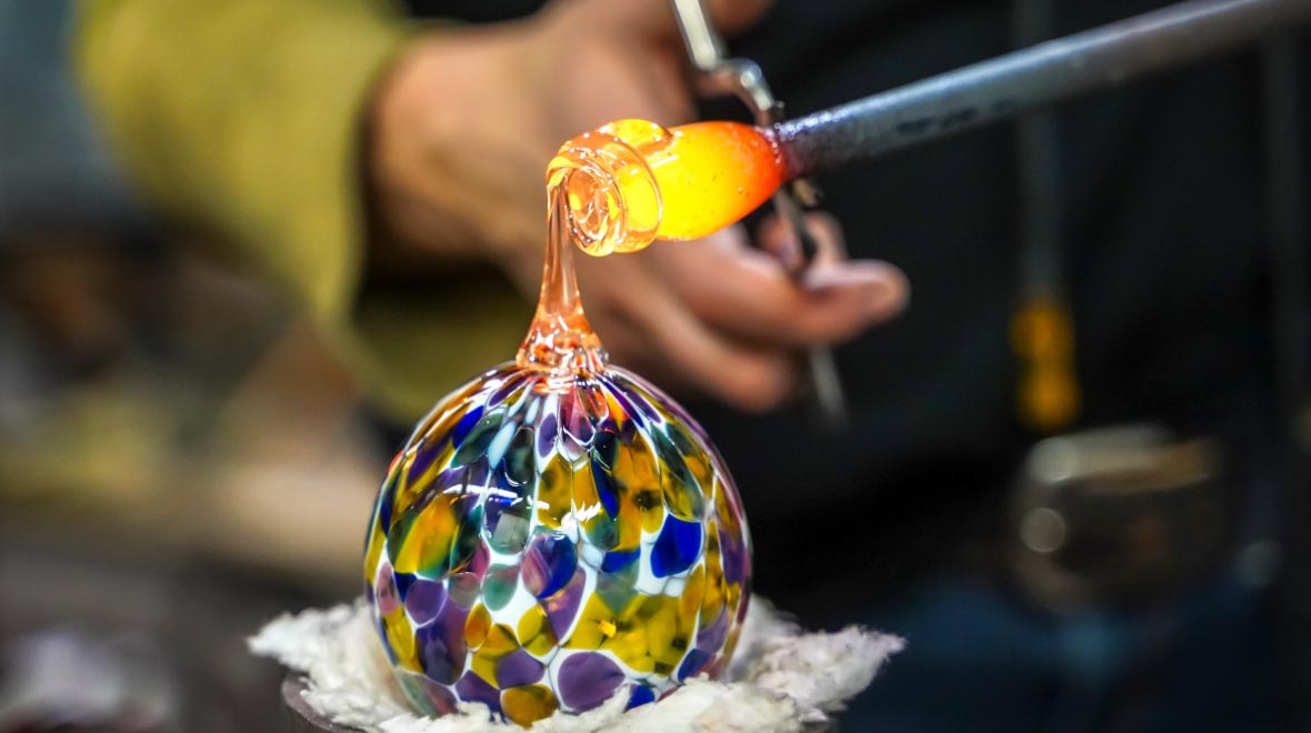 Murano glassblowers