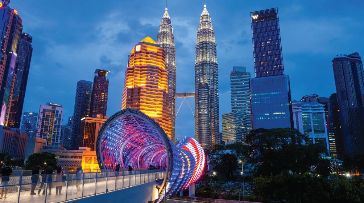 Kuala Lumpur Saloma Link Bridge