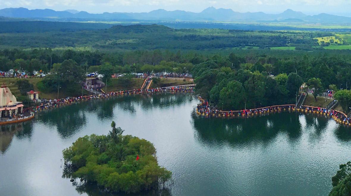 Ganga Talao (Sacred Lake)