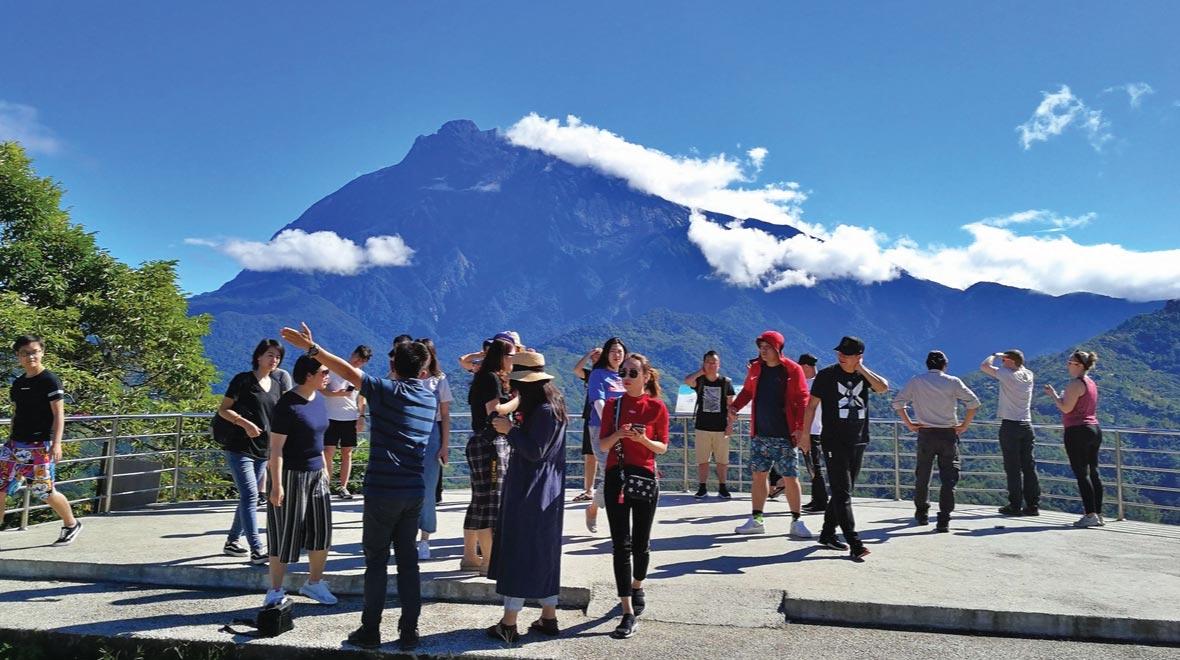 Mount Kinabalu Peak View