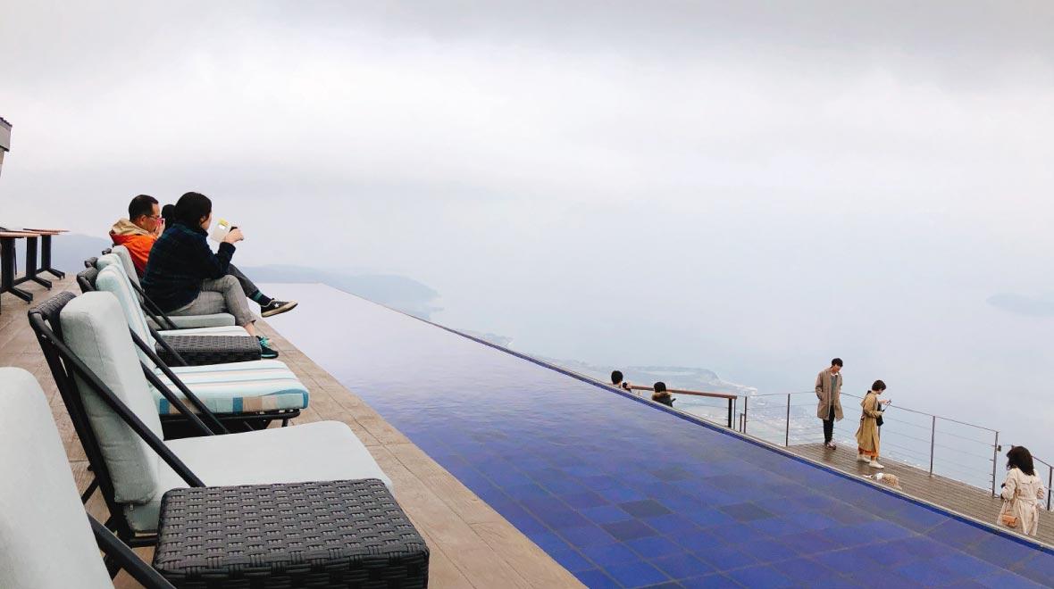 Lake Biwa Observation Deck