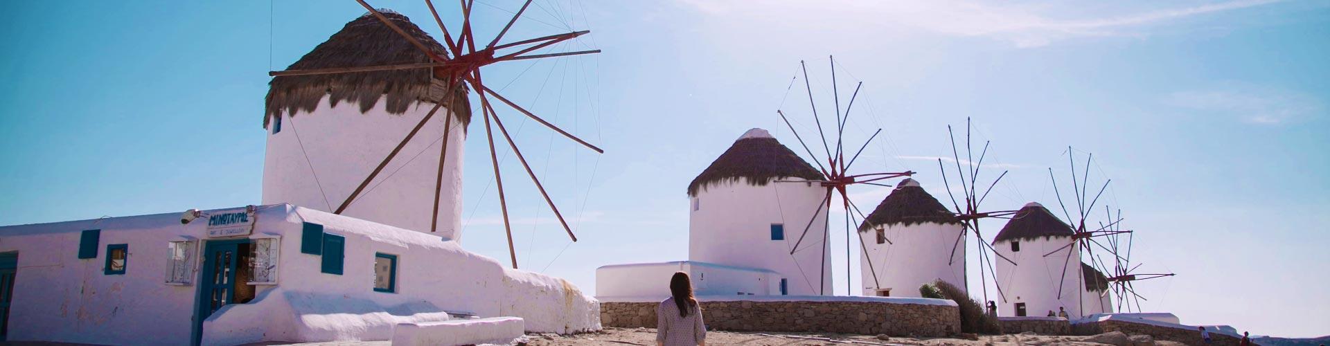 Athens & Mykonos Island