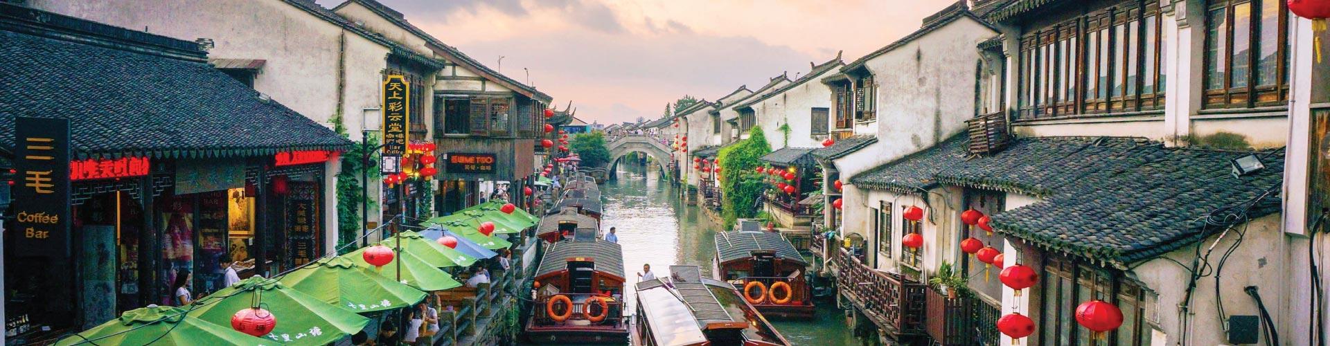 Shanghai, Suzhou, Hangzhou, Nanjing, Wuxi