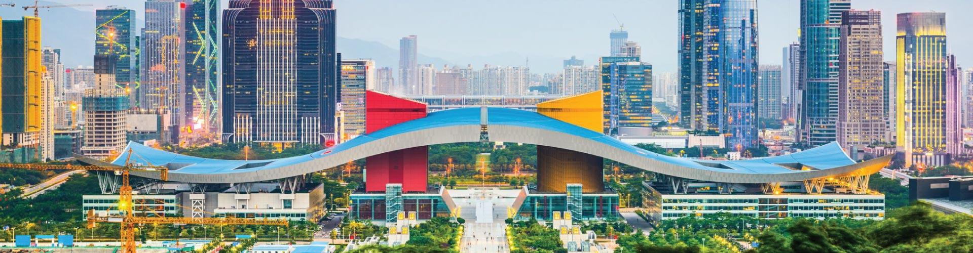 Hong Kong, Macau, Zhuhai, Shenzhen, Canton