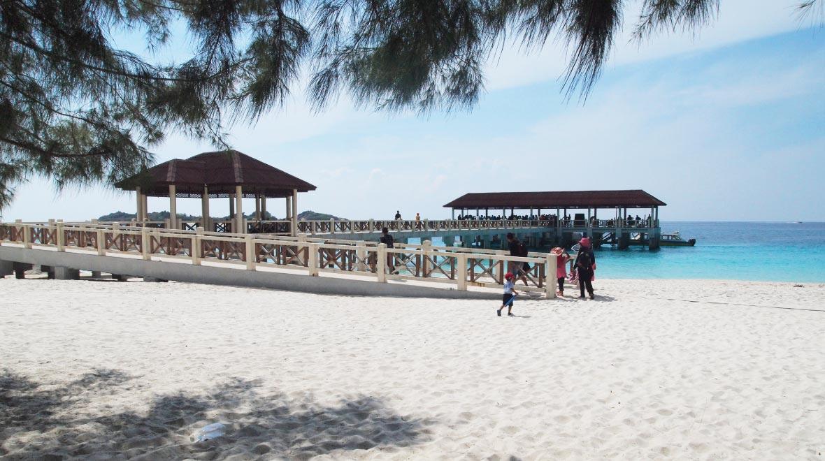 Redang Mutiara Resort Beach Pier