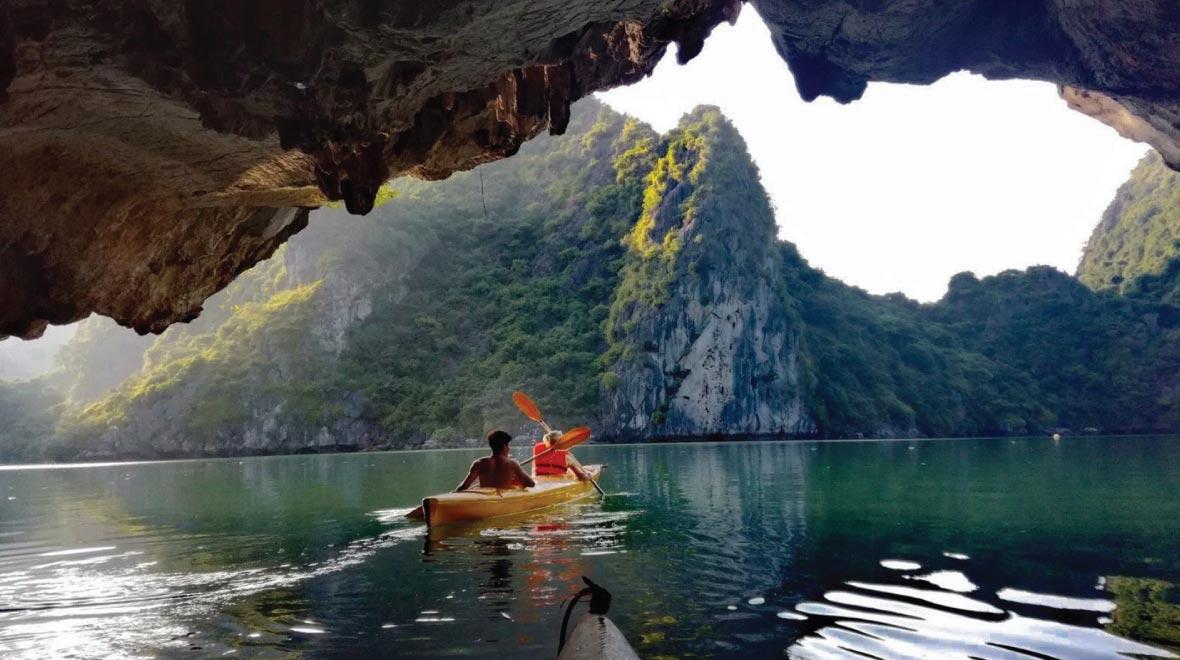 The Dark & Bright Cave