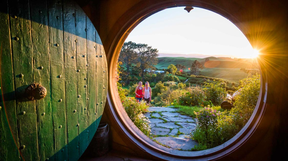 Matamata - The Lord of the Rings and The Hobbit filming place