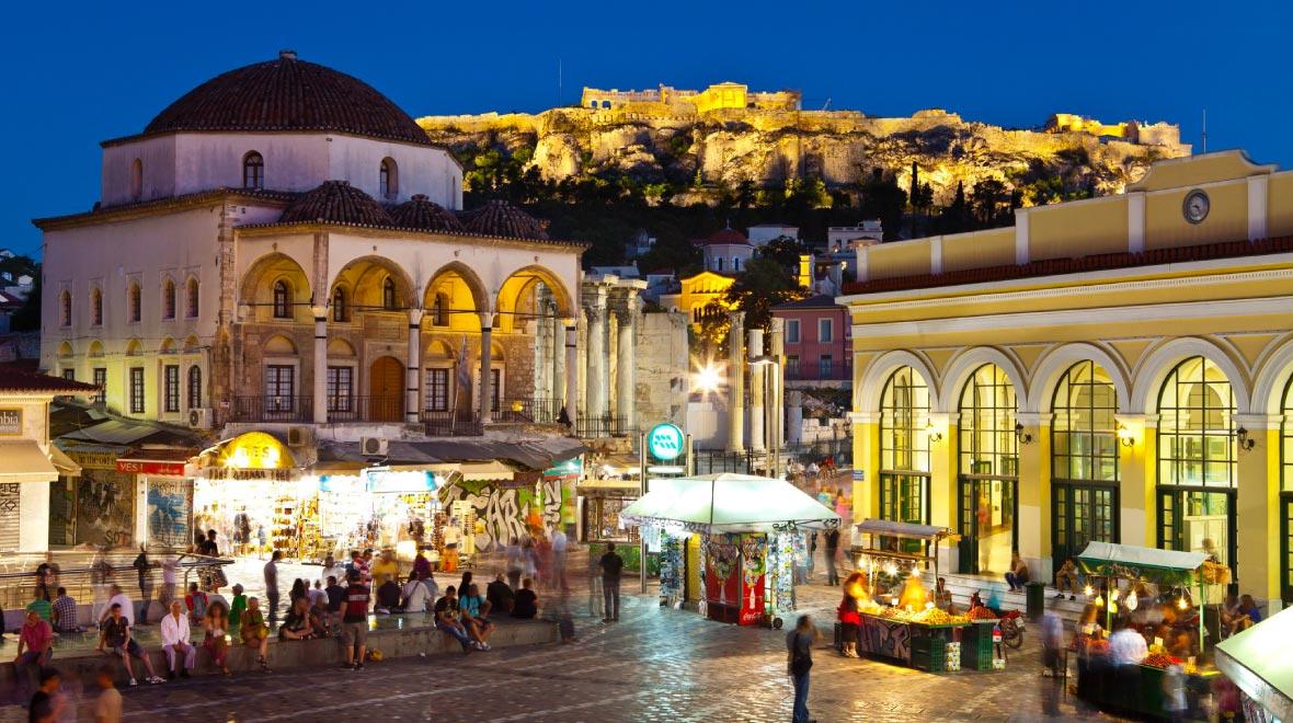Monastiraki shopping