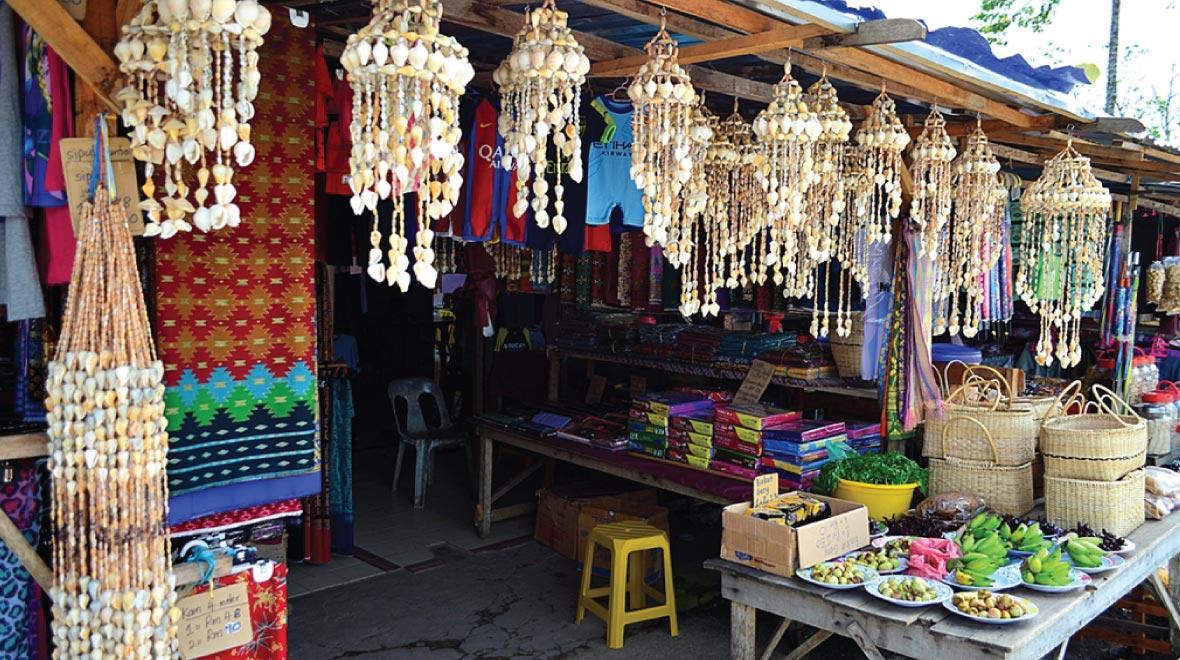 Serikin Market Stall