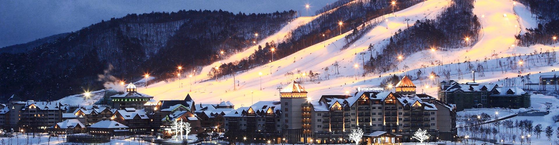 Dazzling Winter Fun In Korea + Ski Resort
