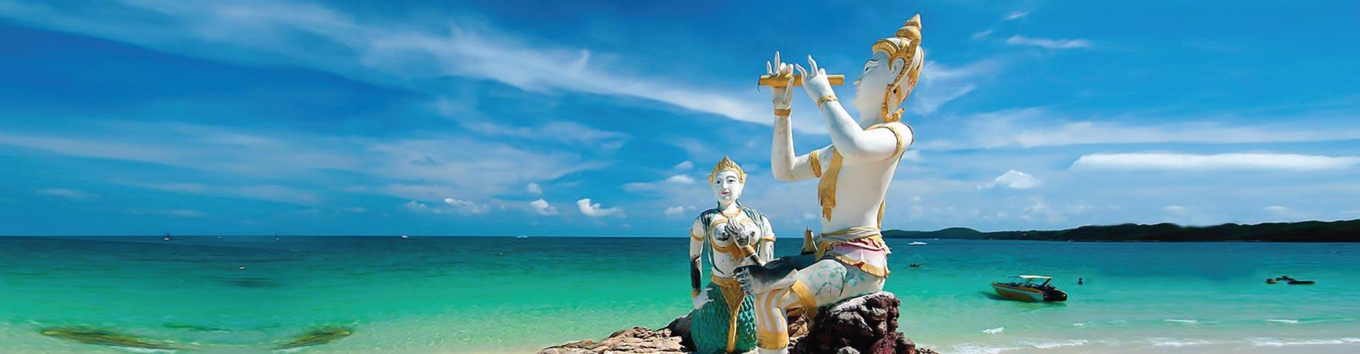 Pattaya, Koh Samet, Ko Samae San, Ko Sichang