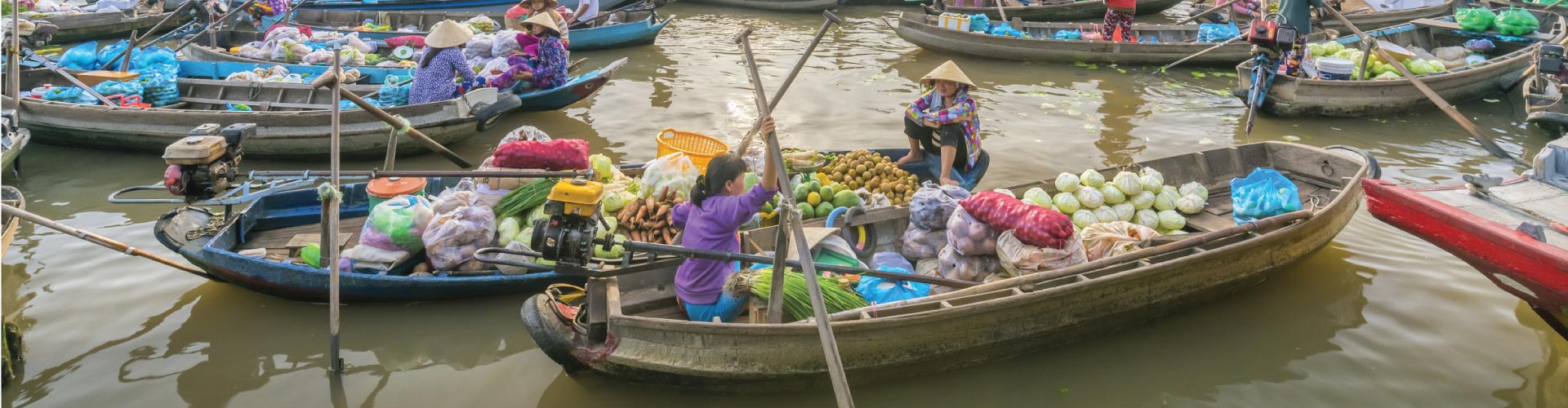Can Tho + Cai Be Floating Market