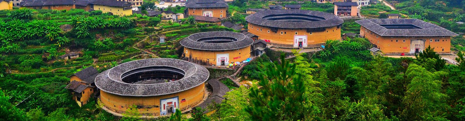 Xiamen, Fujian, Chaozhou, Shantou, Wuyishan