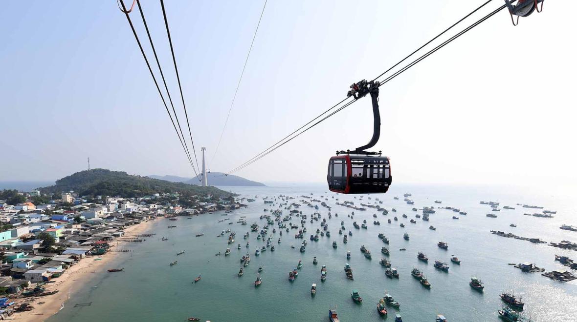 Phu Quoc Longest Cable Car