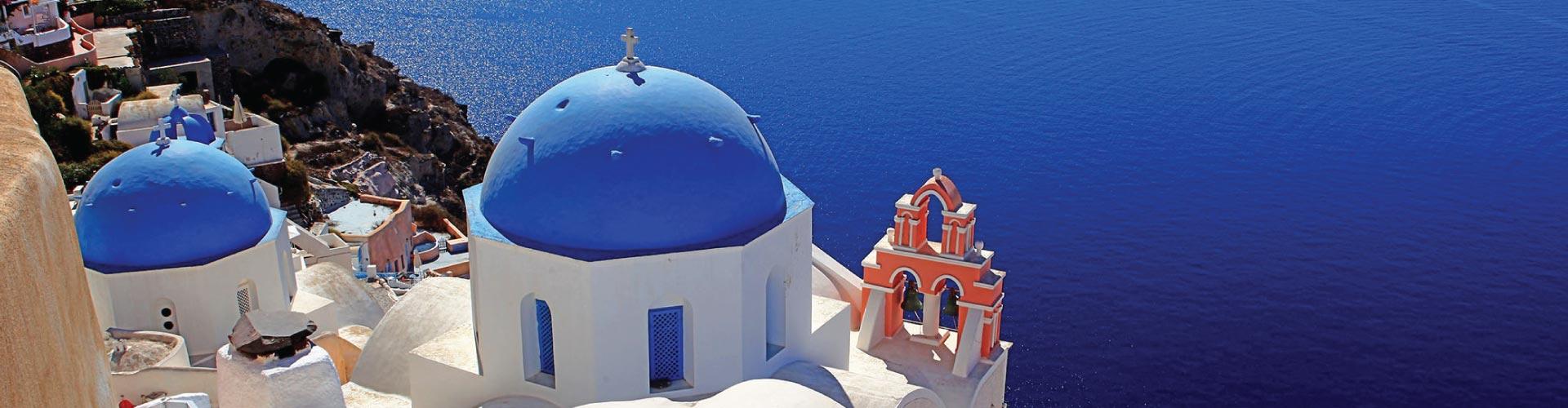 Athens, Santorini, Mykonos Island