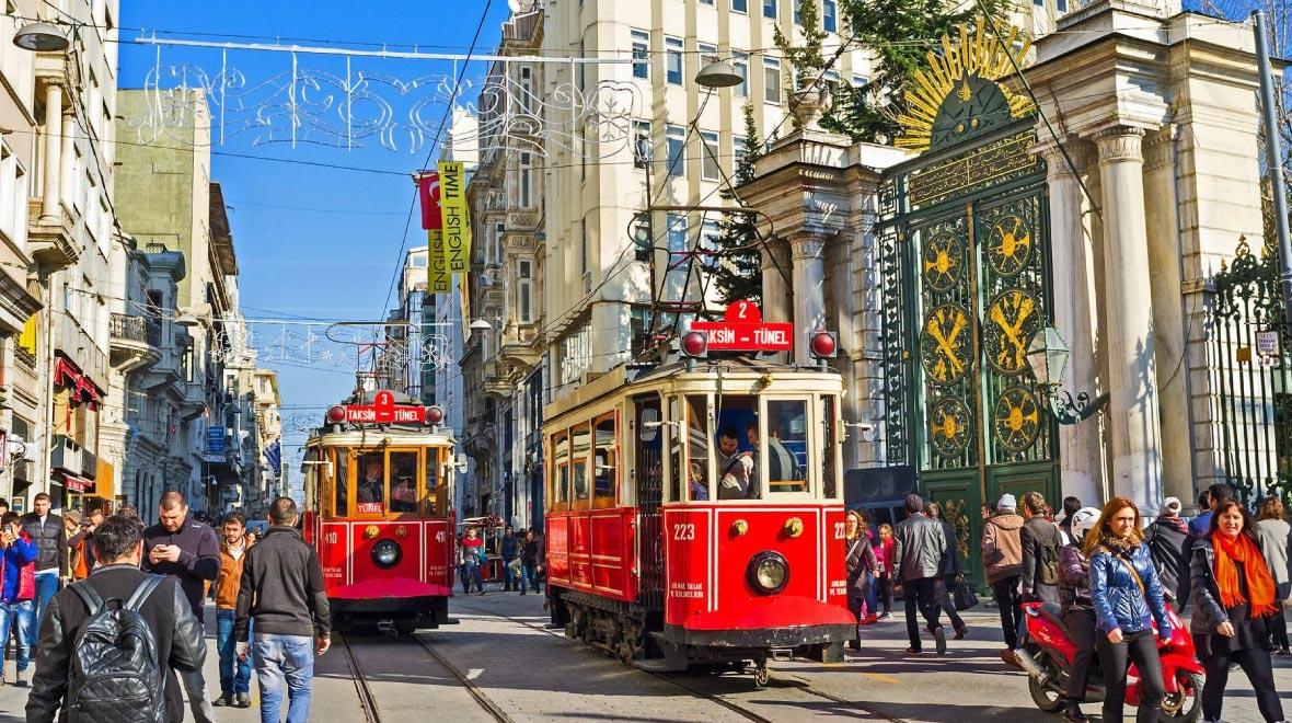 Taksim Square & Istiklal Street