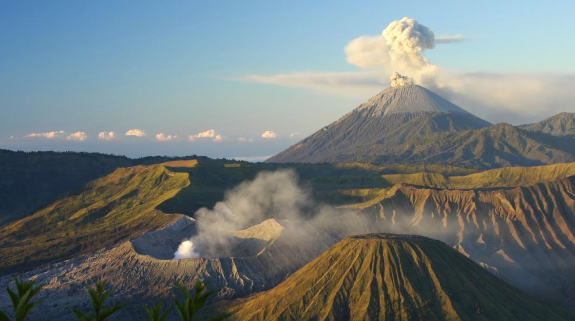 The Kintamani Volcano (Mount Batur)