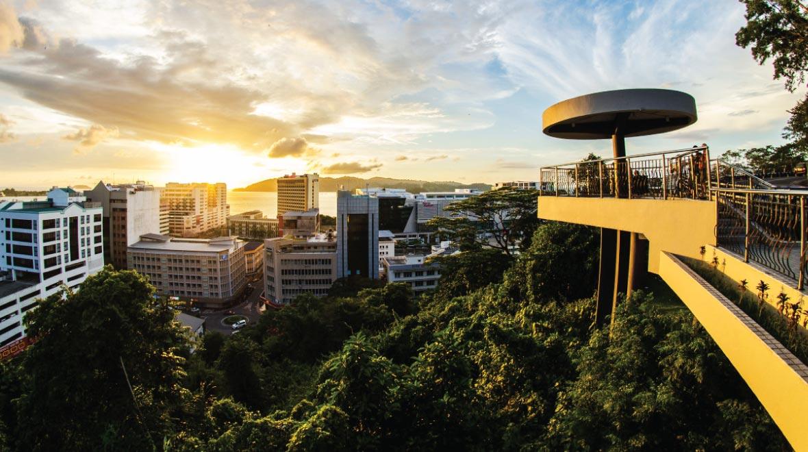 Kota Kinabalu Signal Hill Observatory Tower