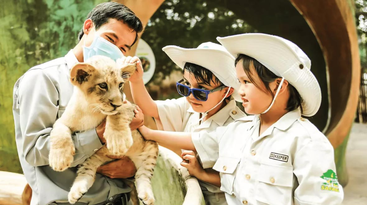 Vinpearl Safari and Conservation Park, Open Zoo