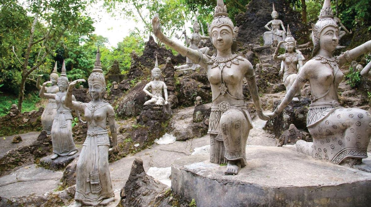 Secrect Buddha Garden
