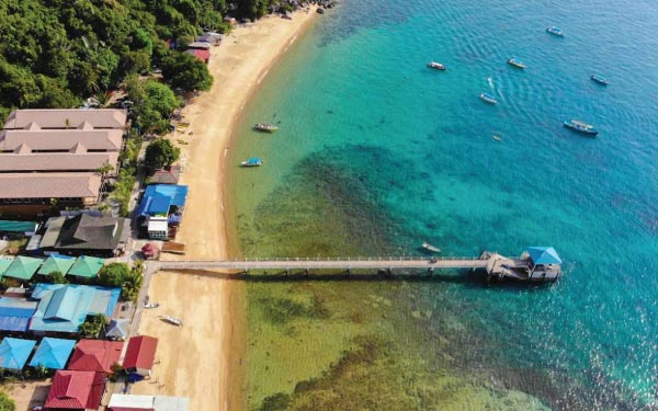 Tioman Island Package @ Aman Tioman Beach Resort